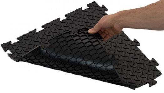 Mattonelle industriali autoposanti prisma pavimenti e rivestimenti